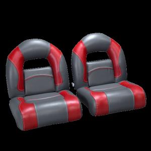 2 bucket seats